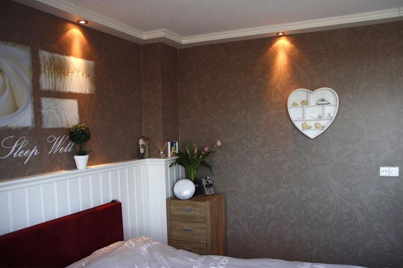 Behang slaapkamer grijs artsmediainfo slaapkamer behang ideen