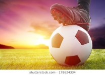 football-soccer-ball-kickoff-game-260nw-178624334